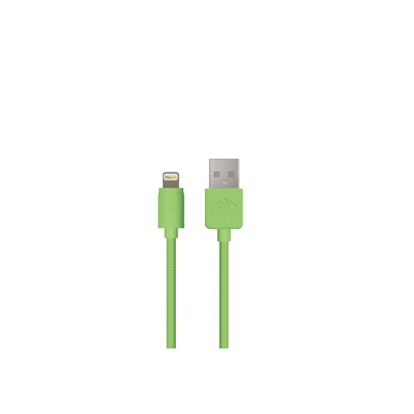 USB to Lightning Connector Cable - NewerTech - 3 Meter - Green:New